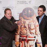 E. James Ford and Jack Haley at the Pioneer One Premiere